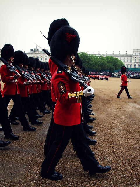 Coldstream Guards March Past