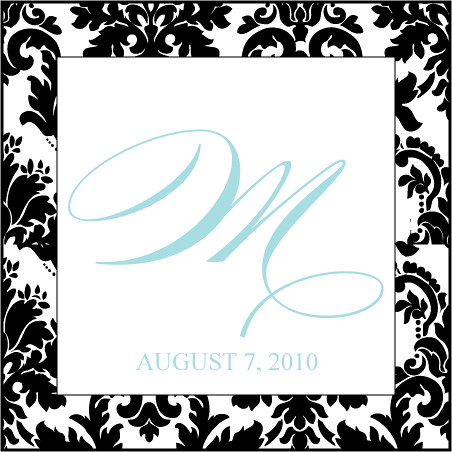 Digital Wedding Monogram Monograms are an elegant understated versatile