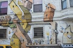 ancient history(0.0), road(0.0), city(0.0), street(0.0), neighbourhood(0.0), art(1.0), artwork(1.0), wall(1.0), street art(1.0), painting(1.0), mural(1.0), graffiti(1.0), facade(1.0), infrastructure(1.0),