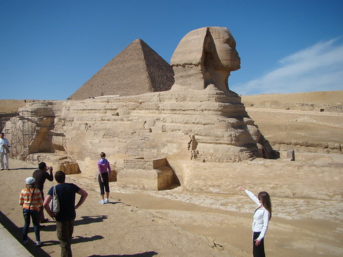 Sphinx, Giza, Egypt by Vasenka