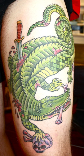 tattoo tool janet quinn alligator tattoo jessica biel shall like it. Black Bedroom Furniture Sets. Home Design Ideas