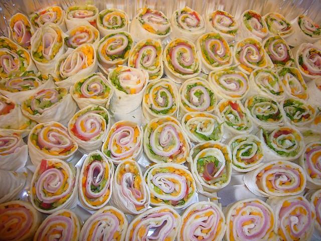 Tortilla Pinwheel Roll-up Appetizers