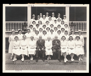 [Church Home and Hospital School of Nursing, class of 1949]
