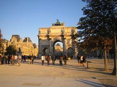 Arce de Triomphe Jardin des Tuileries