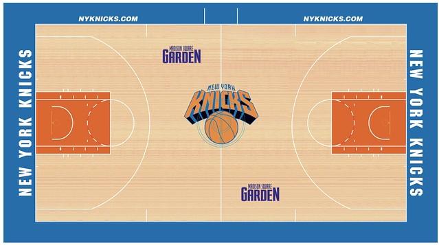 Sam Bloomfield Design Blog Nba Basketball Court Designs