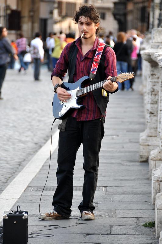 Italy-0075 - Gotta Light Mister......