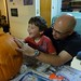 James and Jay Jay Carve their scary pumpkin by plainsight