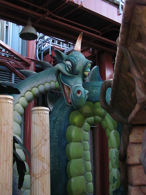 Sea Serpent from World of Motion in Florida