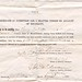Certificate of Exemption for a Drafted Person on Account of Disability by megnut