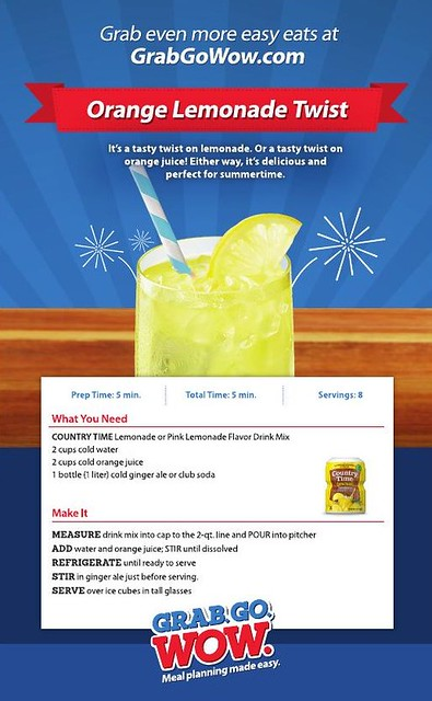 Orange Lemonade Twist Recipe