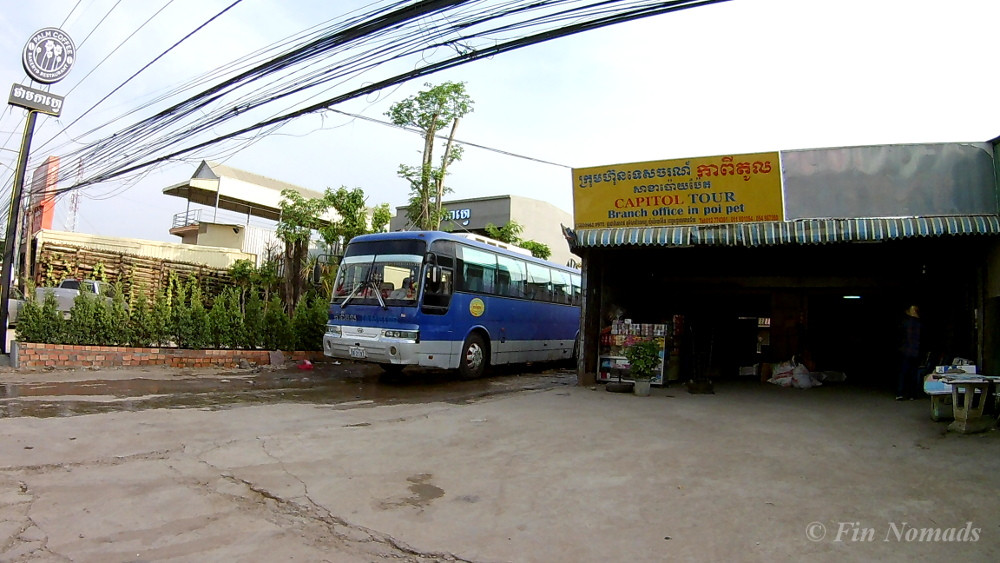 bus to Siem Reap