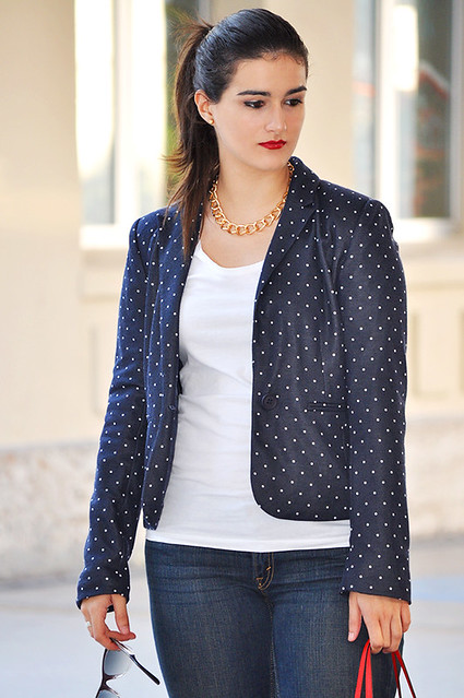 valencia something fashion blogger spain influencer streetstyle michael kors tote bag blazer rayban_0002
