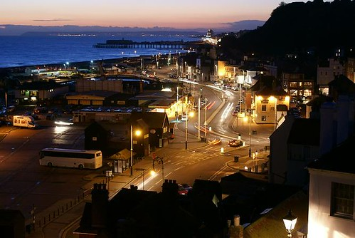 Hastings at Night (Winter)