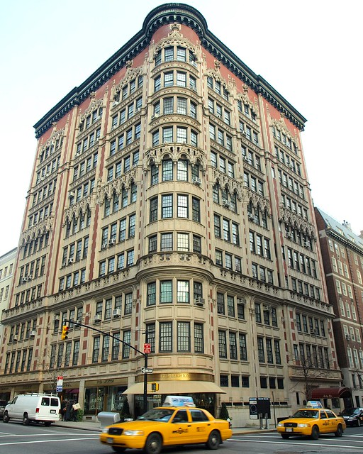 Decorative Apartment Building, Upper East Side, New York