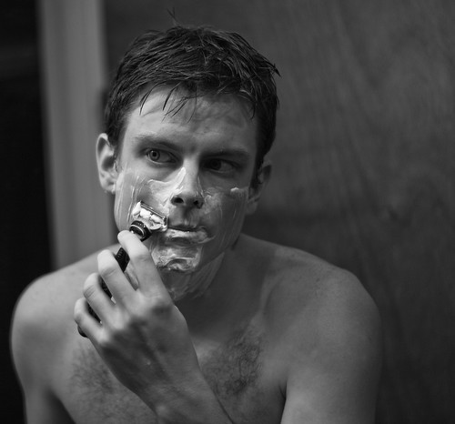 morning shave