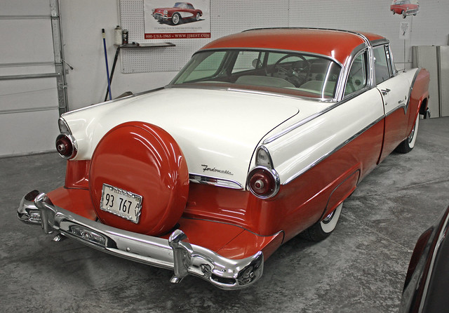 1955 ford crown victoria 2 door 6 passenger coupe 5 of 5 for 1955 ford 2 door