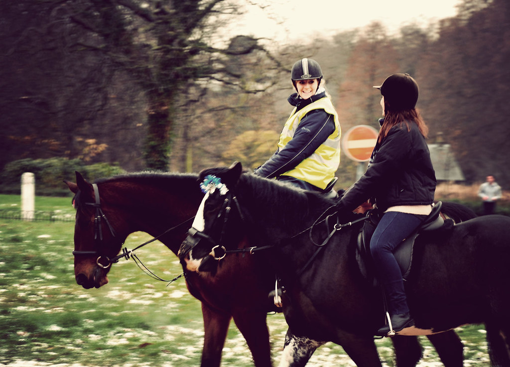Horse Riding in Hyde Park, Christmas 2009