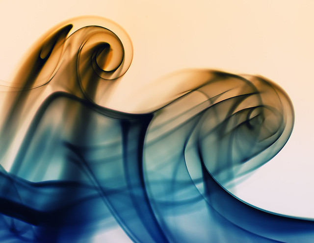 Smoke Art #2 - Ride the Waves / ?????