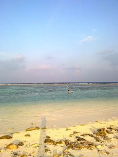 Image of Hulumale Beach.