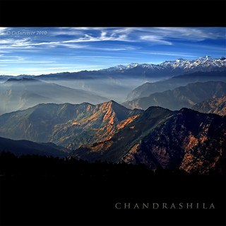 ~ a rising mist in the valleys of Chopta