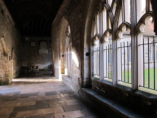 Chichester Cathedral Cloisters