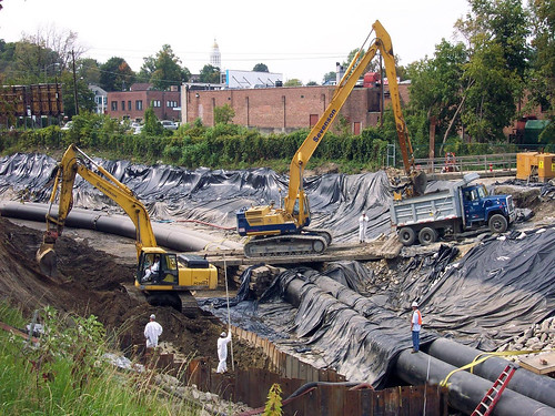 GE Housatonic Superfund project site