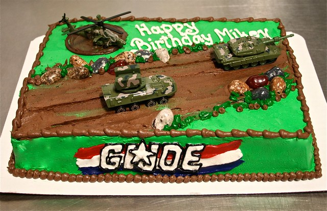 Gi Joe Cake Decorations