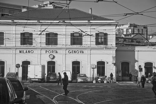 Milano porta genova stazione dei treni milano italia - Milano porta genova treni ...