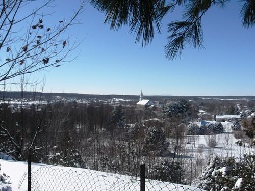 Vue du village en hiver par Patrick Andries - Flickr