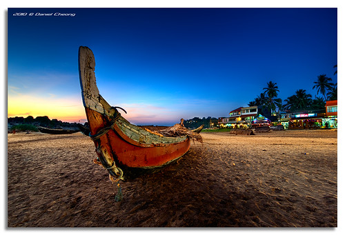 Kovalam Beach Blue