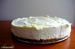cream pie(0.0), cake(1.0), semifreddo(1.0), bavarian cream(1.0), buttercream(1.0), carrot cake(1.0), baked goods(1.0), whipped cream(1.0), produce(1.0), food(1.0), icing(1.0), dish(1.0), cheesecake(1.0), dairy product(1.0), torte(1.0), cream(1.0), mascarpone(1.0),