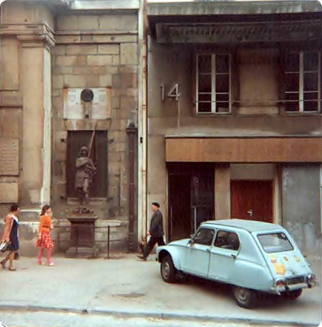 Paris Street 1978