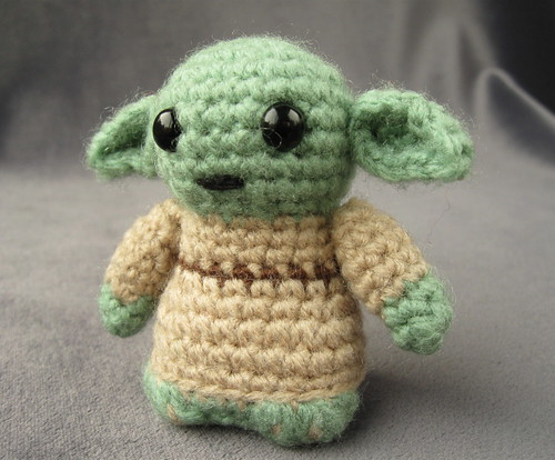 Star Wars Mini Amigurumi - Yoda
