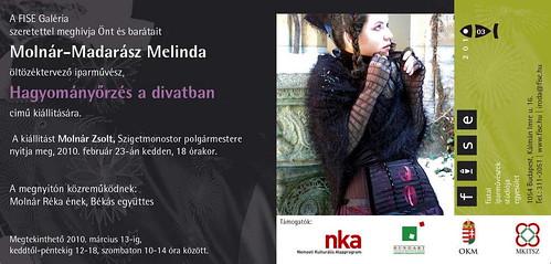 Molnár-Madarász Melinda: Hagyományőrzés a divatban
