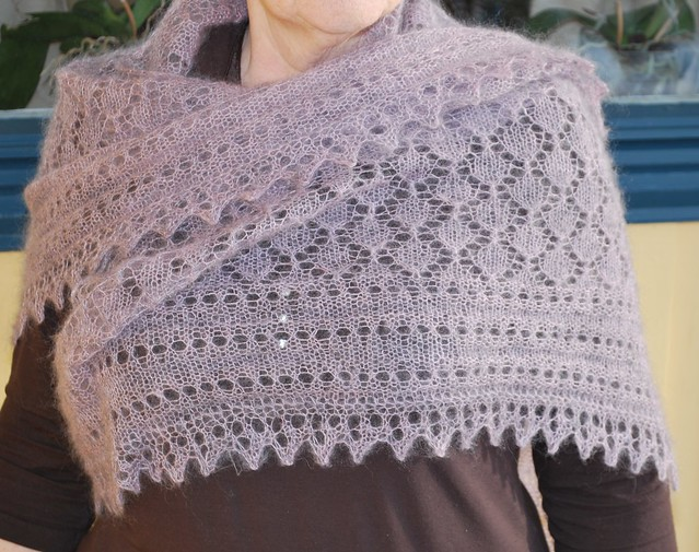 Knitting Scarf Patterns Using Mohair : Mohair Shawl Pattern   Design Patterns