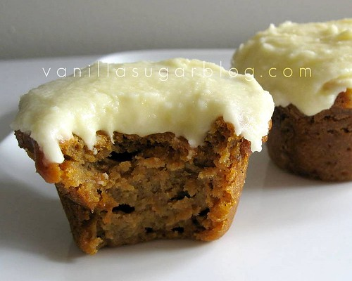 sweet potato & vanilla cupcakes