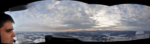 panorama flying diamond da20