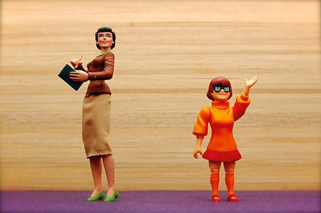 Lois Lane vs. Velma Dinkley (56/365)
