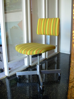 Sold Striped Mod Task Chair 07