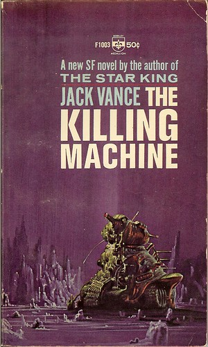 Jack Vance - The Killing Machines: Demon Princes 2 - cover artist  Richard Powers - 1st edition Berkley November 1964