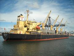 Cargo Ship Yantian Sea