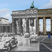 Adolf Hitler at the Brandenburg Gate (Brandenburger Tor), Berlin - August 1st 1936 - Opening of the Summer Olympic Games - Looking Into The Past
