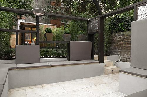 Interieur en design tips op coole stadstuin - Tuin interieur design ...