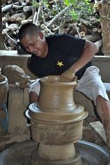 art, sculpture, pottery, potter's wheel,