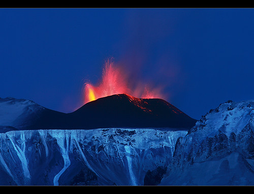 New Crater - Eyjafjallajokull Eruption