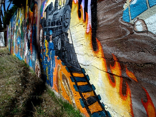 arizona art colors wall painting outside mural downtown az prescott granitecreek