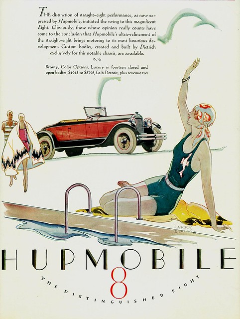 1927 Hupmobile Eight Roadster