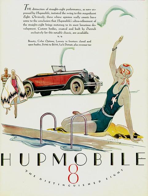 1927 Hupmobile Eight Roadster