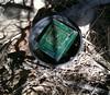 Black bucket covering cammo box