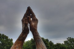 Praying Hands HDR